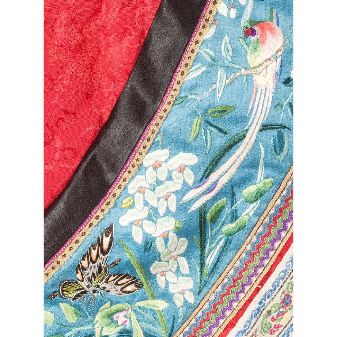 Chinese Embroidered Silk Jacket - 5