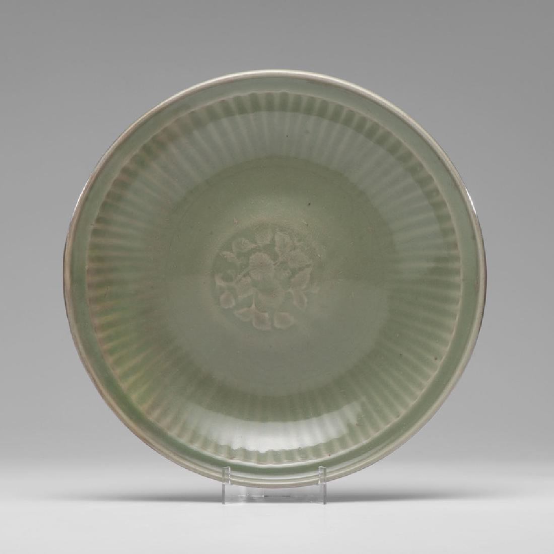 Ming Dynasty Celadon Charger