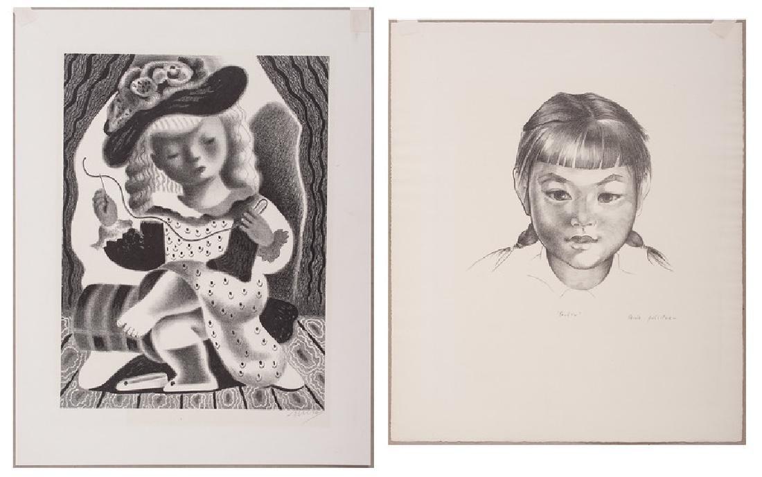 Nura Woodson Ulreich (American, 1900-1950) and Mina