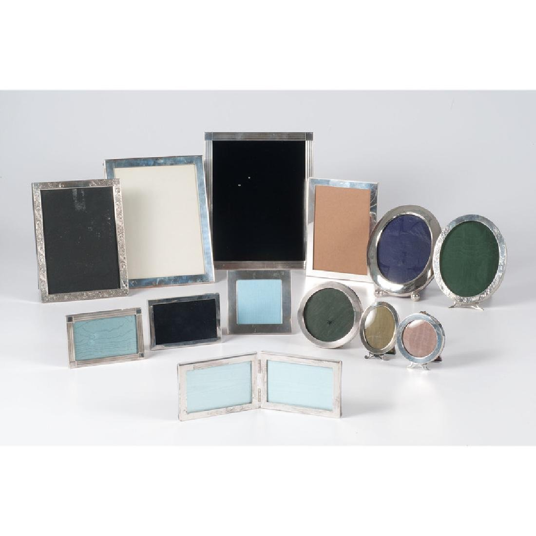 American Sterling Picture Frames Including Tiffany
