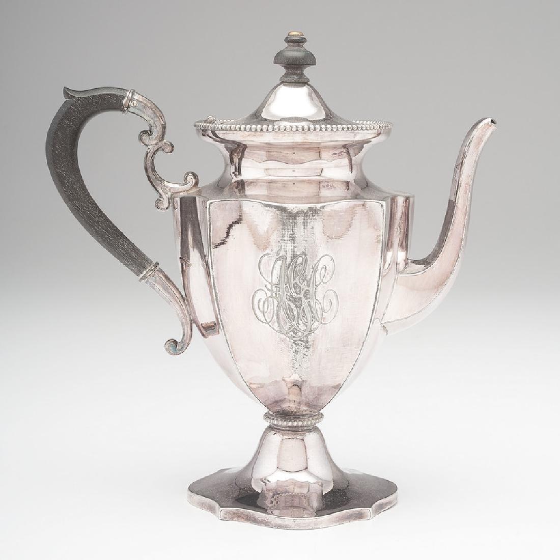 Derby Silver Co. Silverplate Tea Pot
