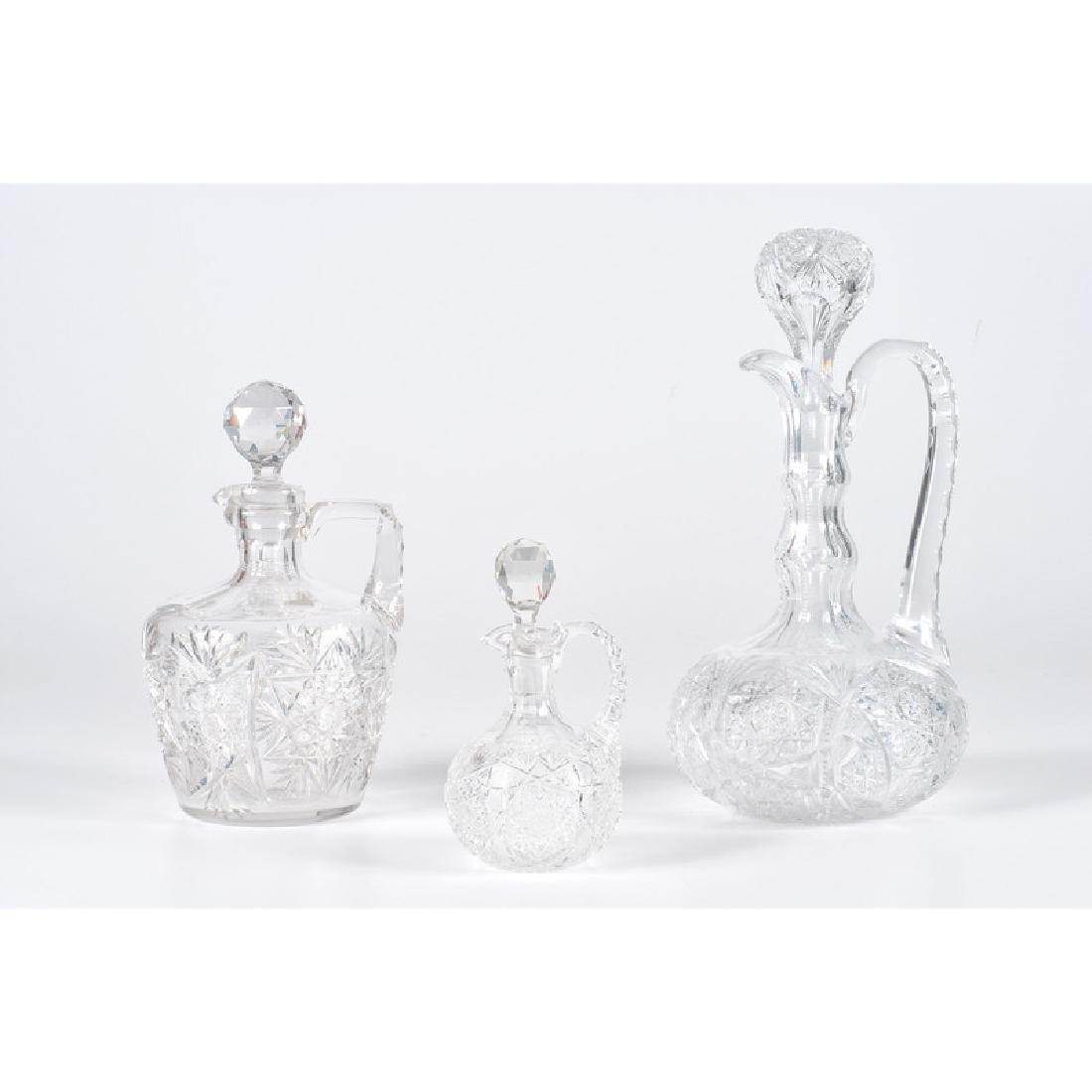 Cut Glass Carafes
