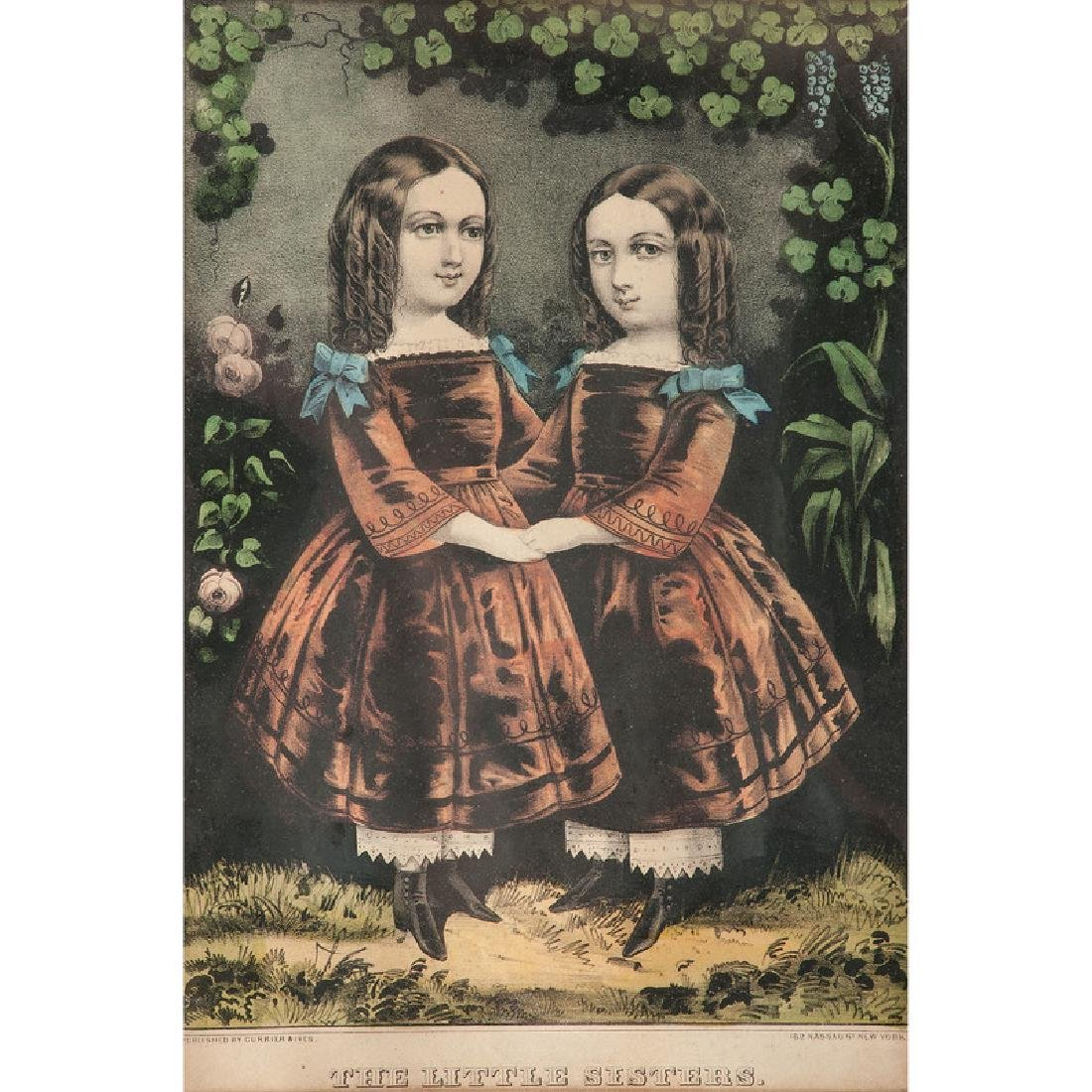 Currier & Ives and Kellogg Hand-Colored Lithographs,