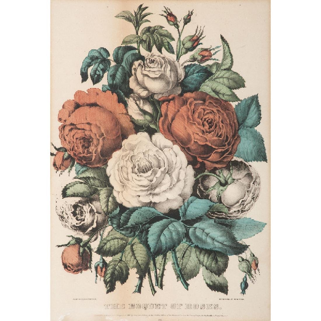 Currier & Ives Hand-Colored Lithographs
