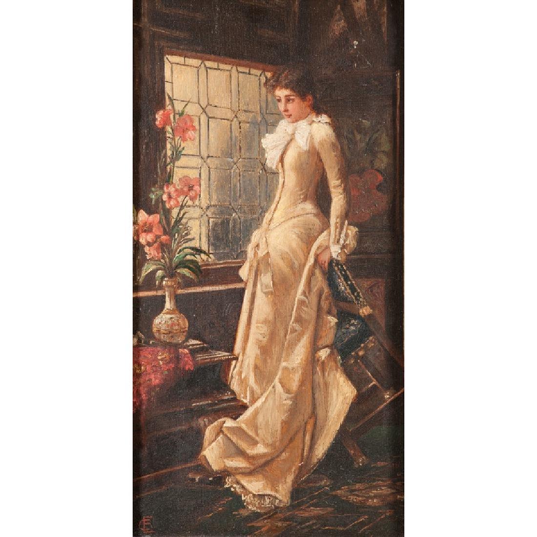 Portrait of a Woman by E. Lang