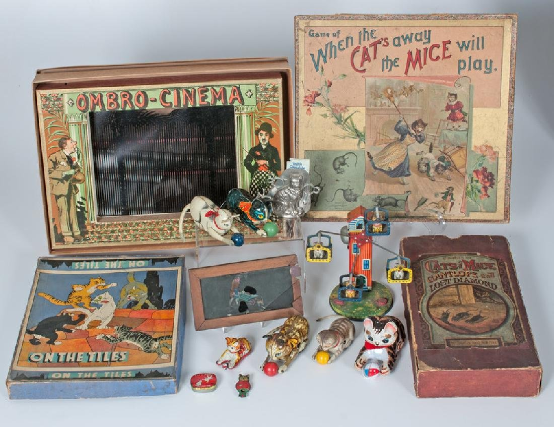 L'Ombro Cinema Optical Game and Assortment of