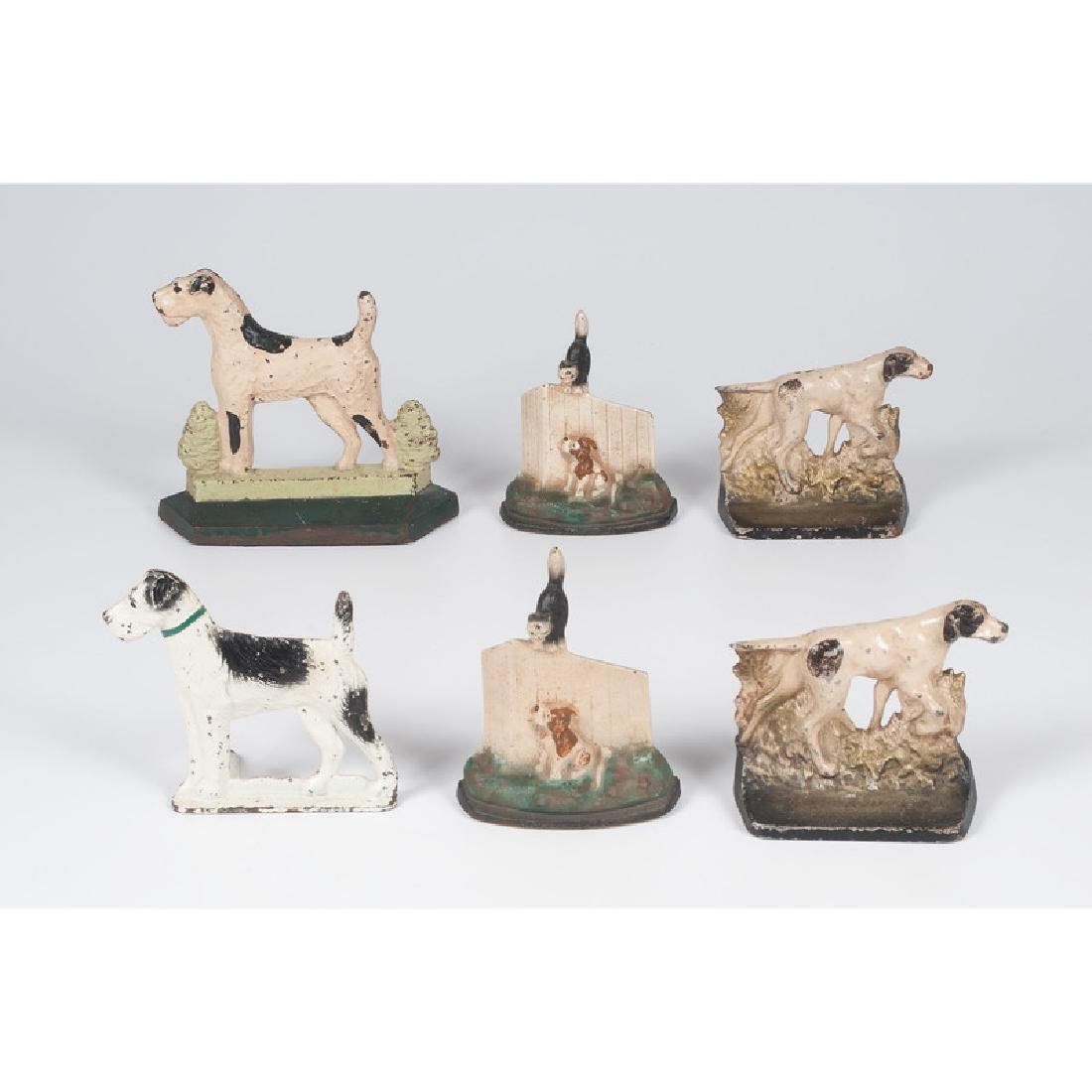 Dog Bookends and Doorstop