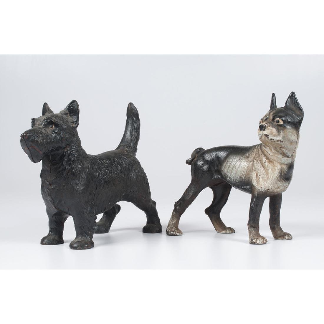 Cast Iron Terrier Doorstops