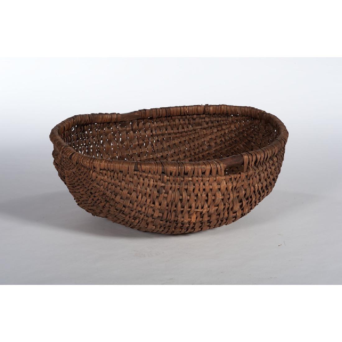 Split Oak Storage Basket