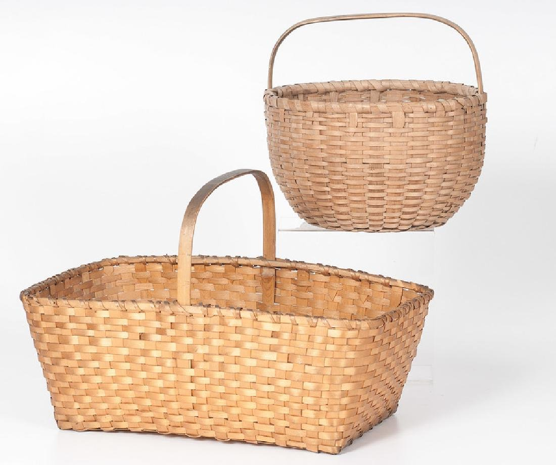 Orchard Basket & Split Rectangular Basket