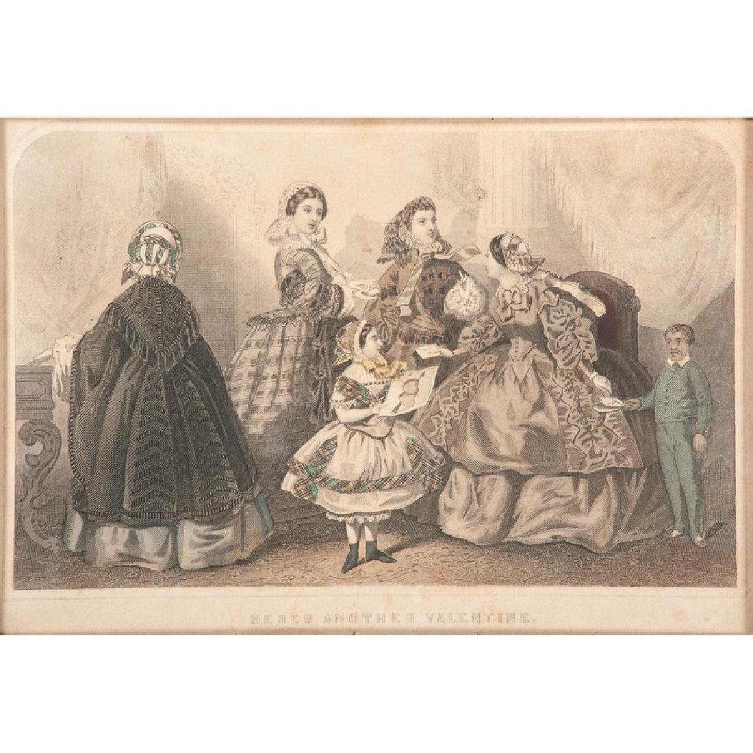 Hand-Colored Lithographs and Engravings