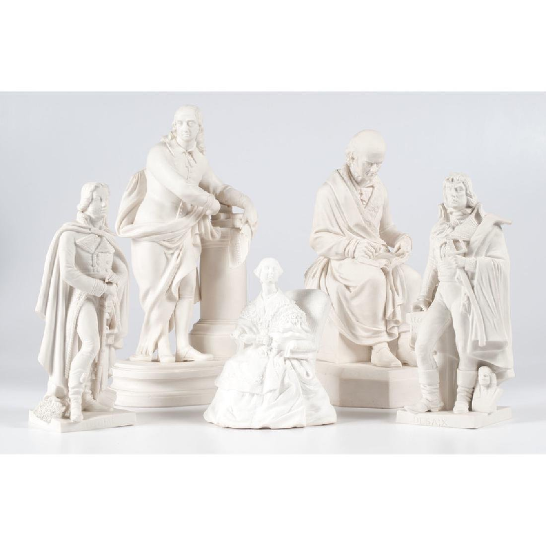 Parian Statues of Continental Figures