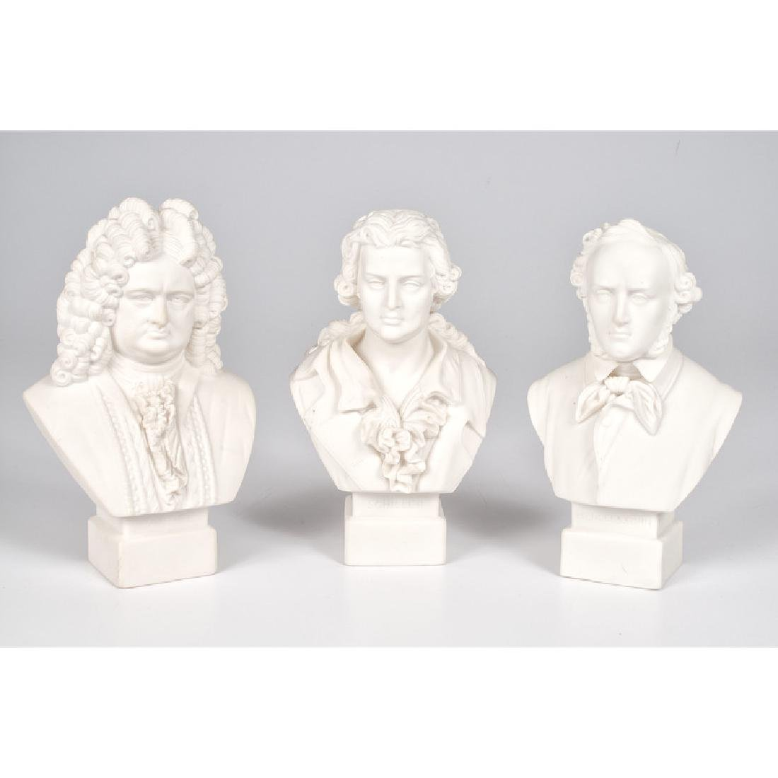 Robinson and Leadbeater Parian Busts of German