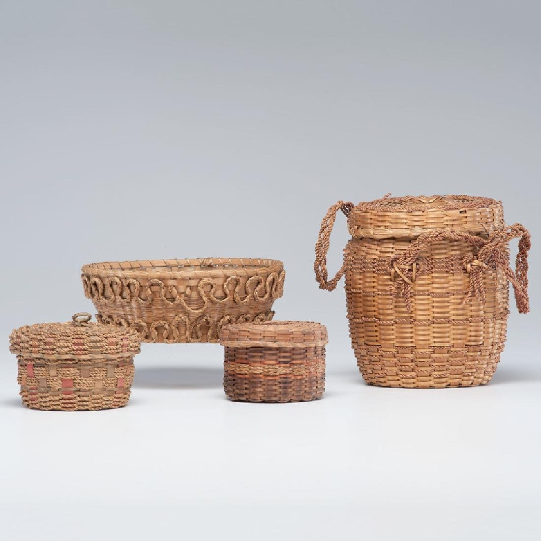 Northeastern Native American Craft Baskets