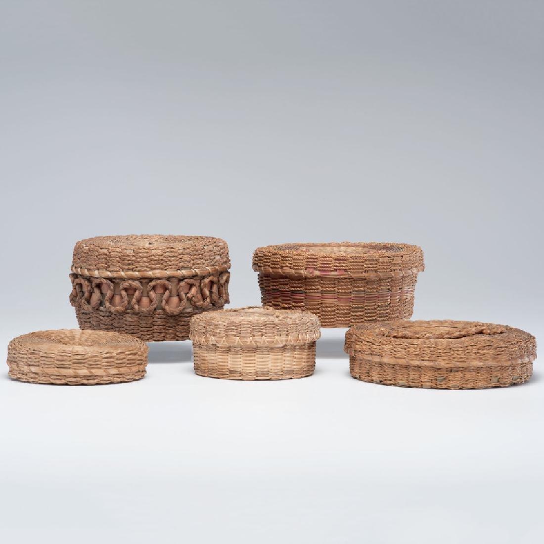 Mohawk Sweet Grass Craft Baskets