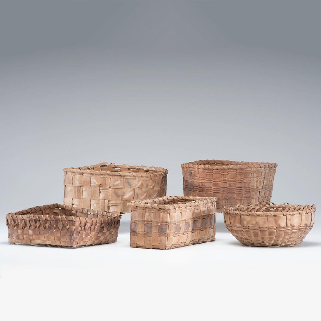 Haudenosaunee (Iroquois) Potato Stamped Baskets