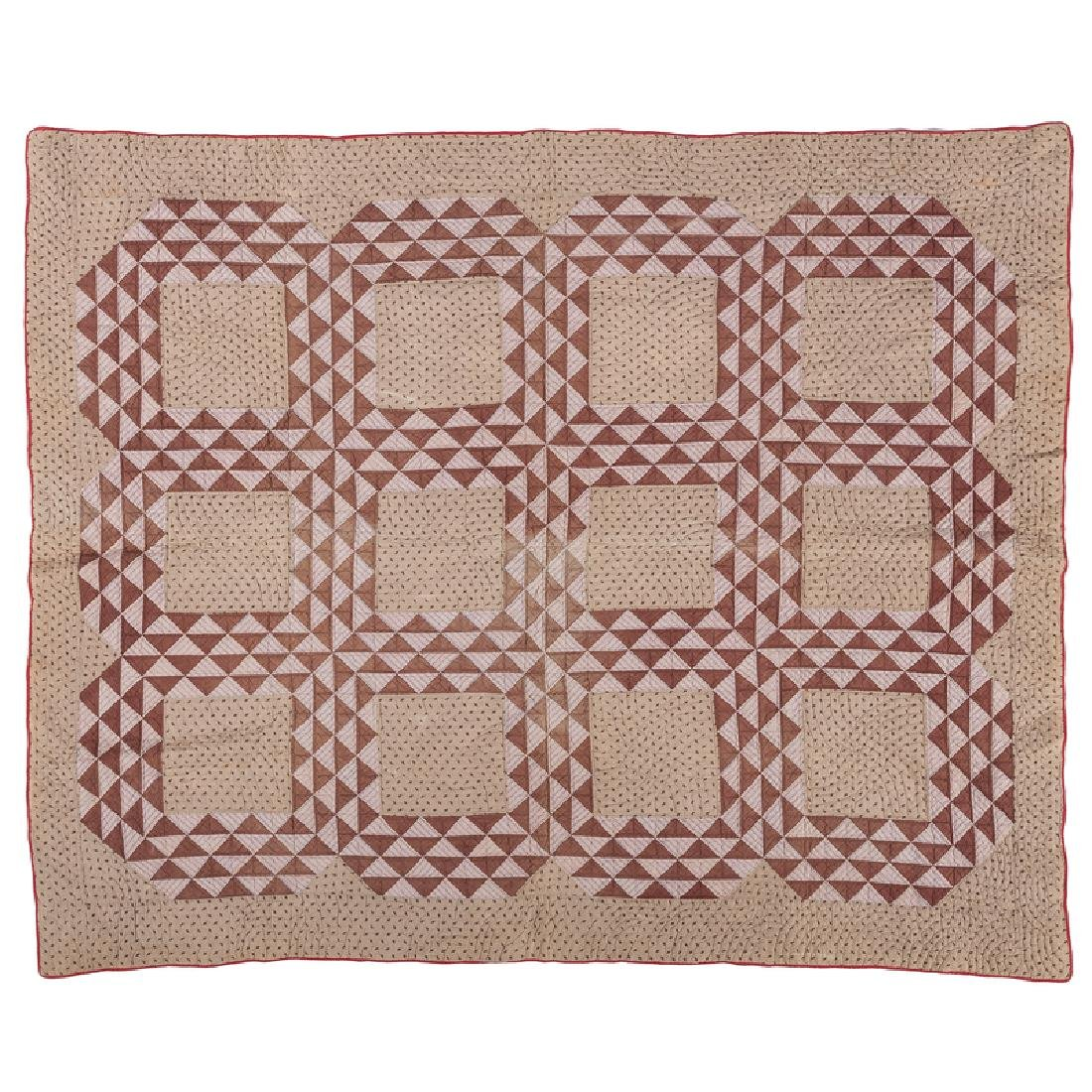 Twelve Patch Sawtooth Quilt