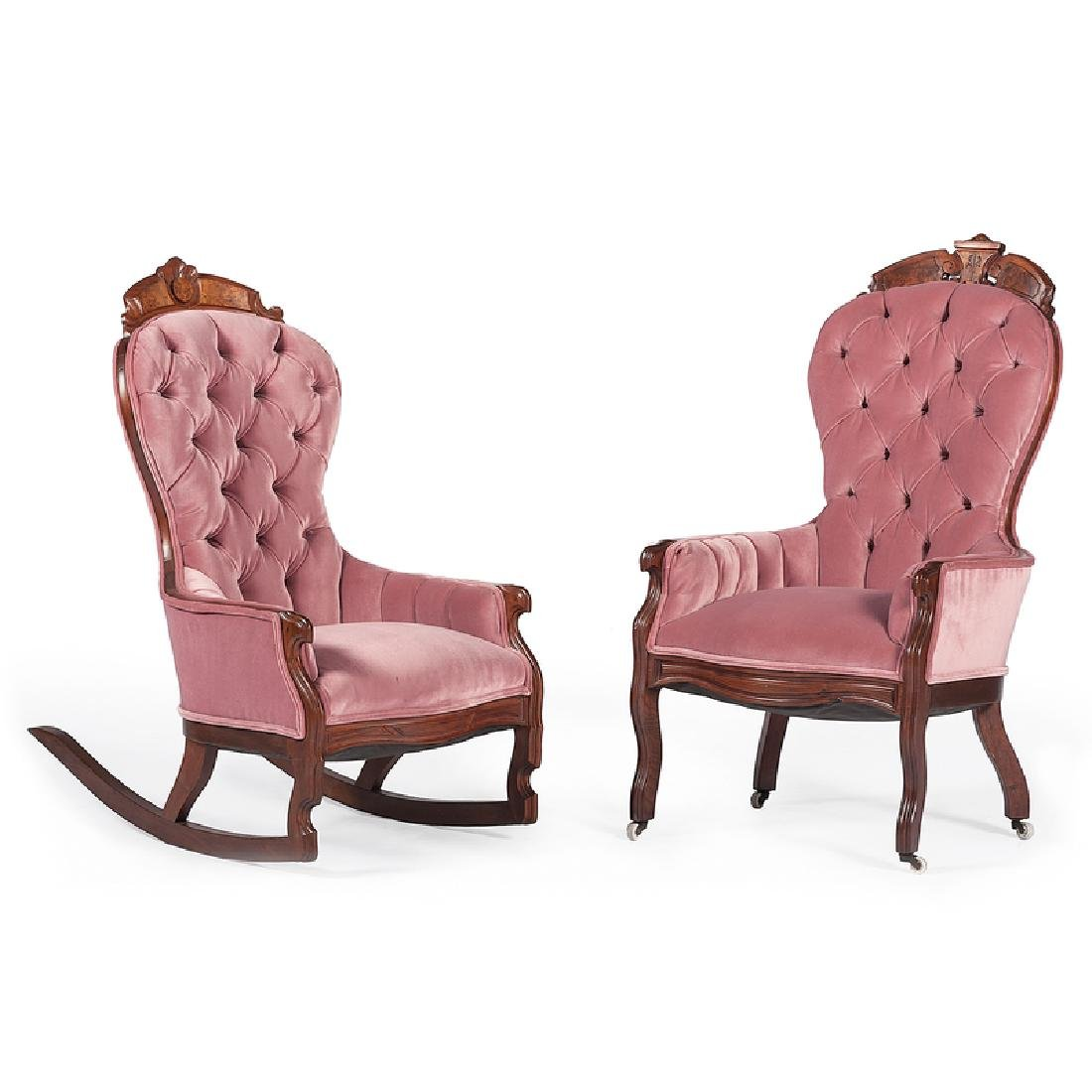 Victorian Armchairs