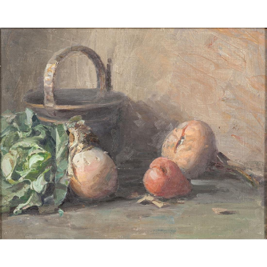 American Still Life with Vegetables