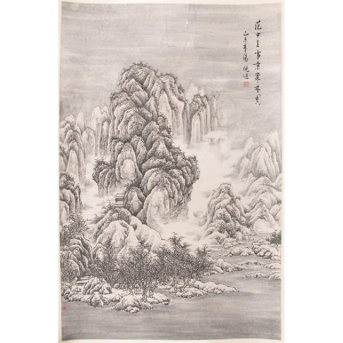 Chinese Landscape Scrolls