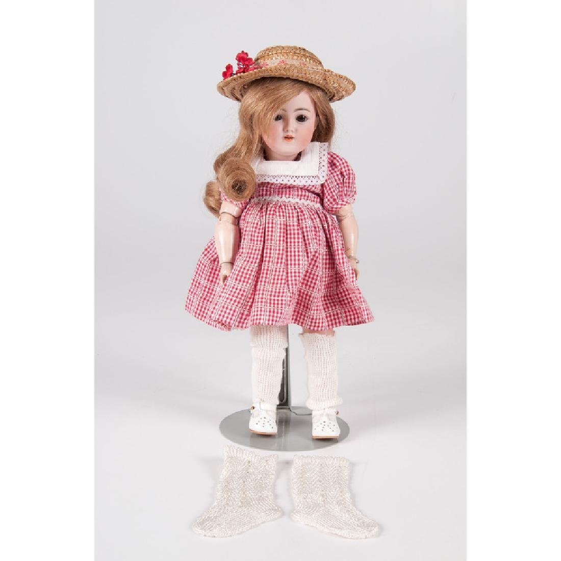 Simon & Halbig #1249 Bisque Head Doll
