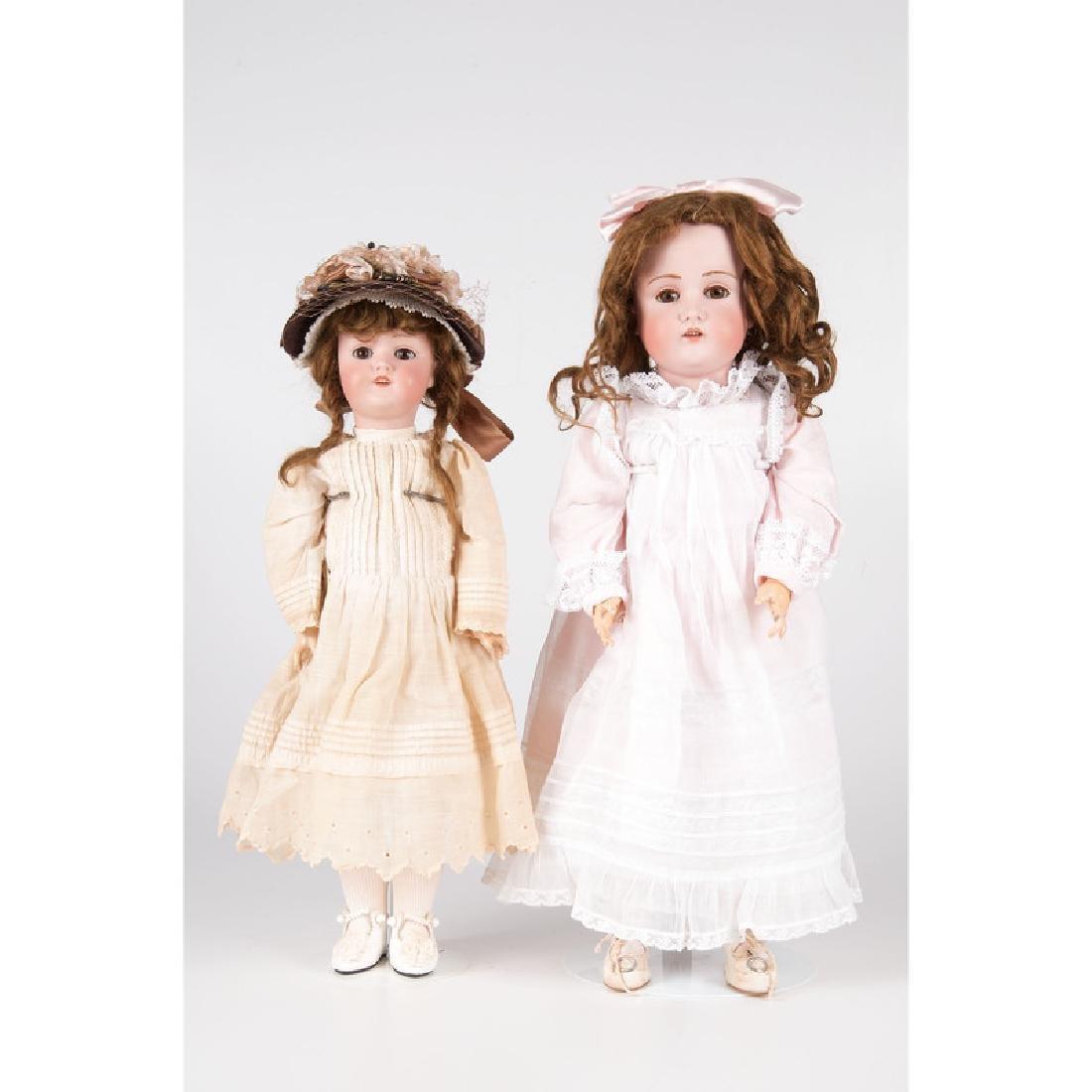 Kestner Bisque Head Dolls