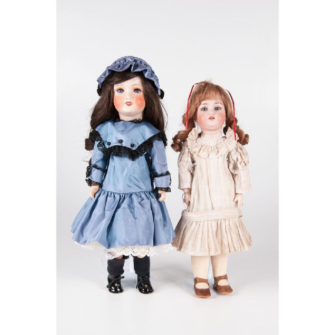 Continental Bisque Head Dolls