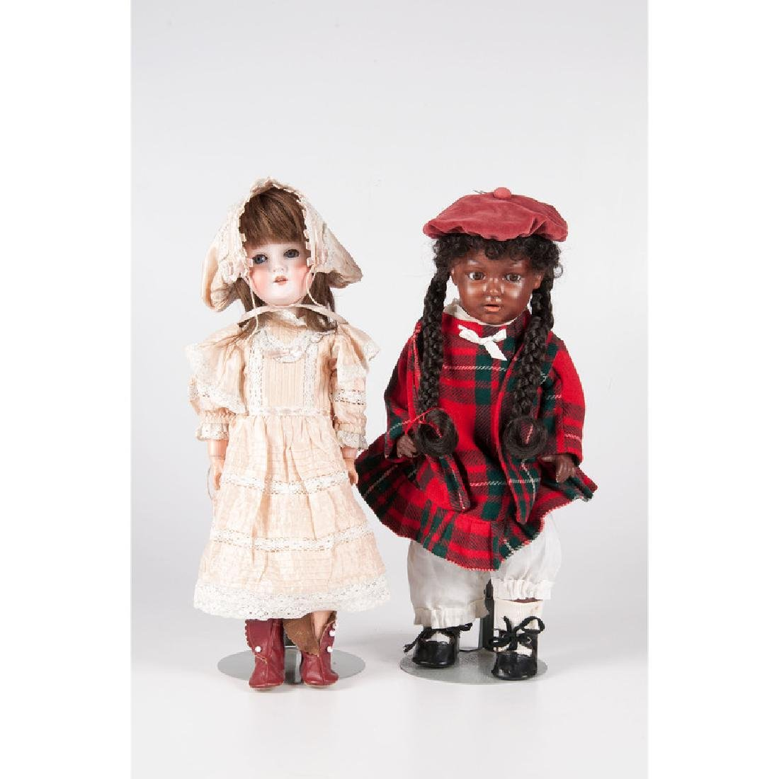 German Bisque Head Dolls