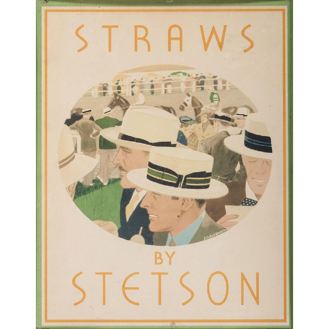 Stetson Store Display Card