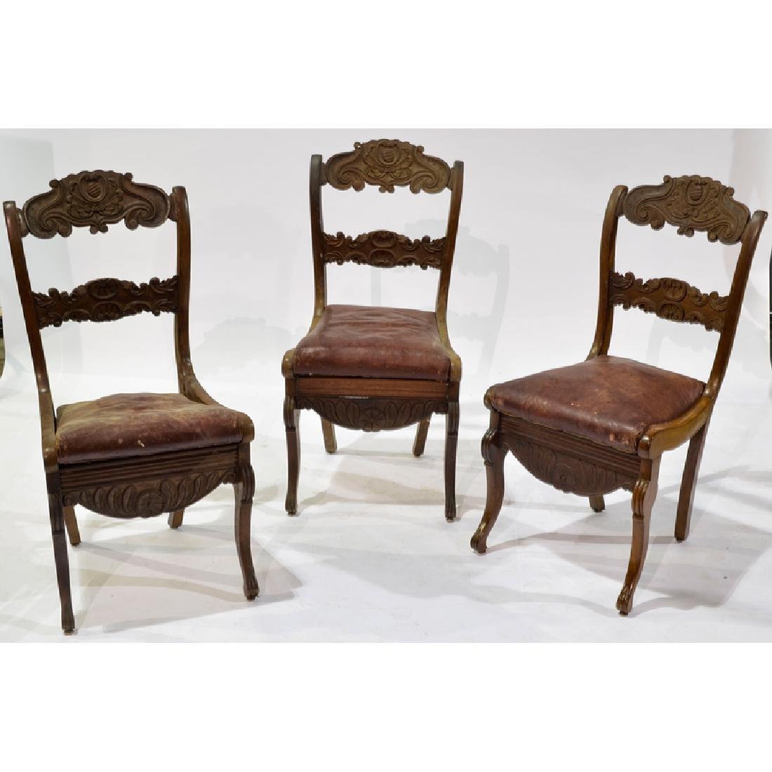 Continental Walnut Chairs