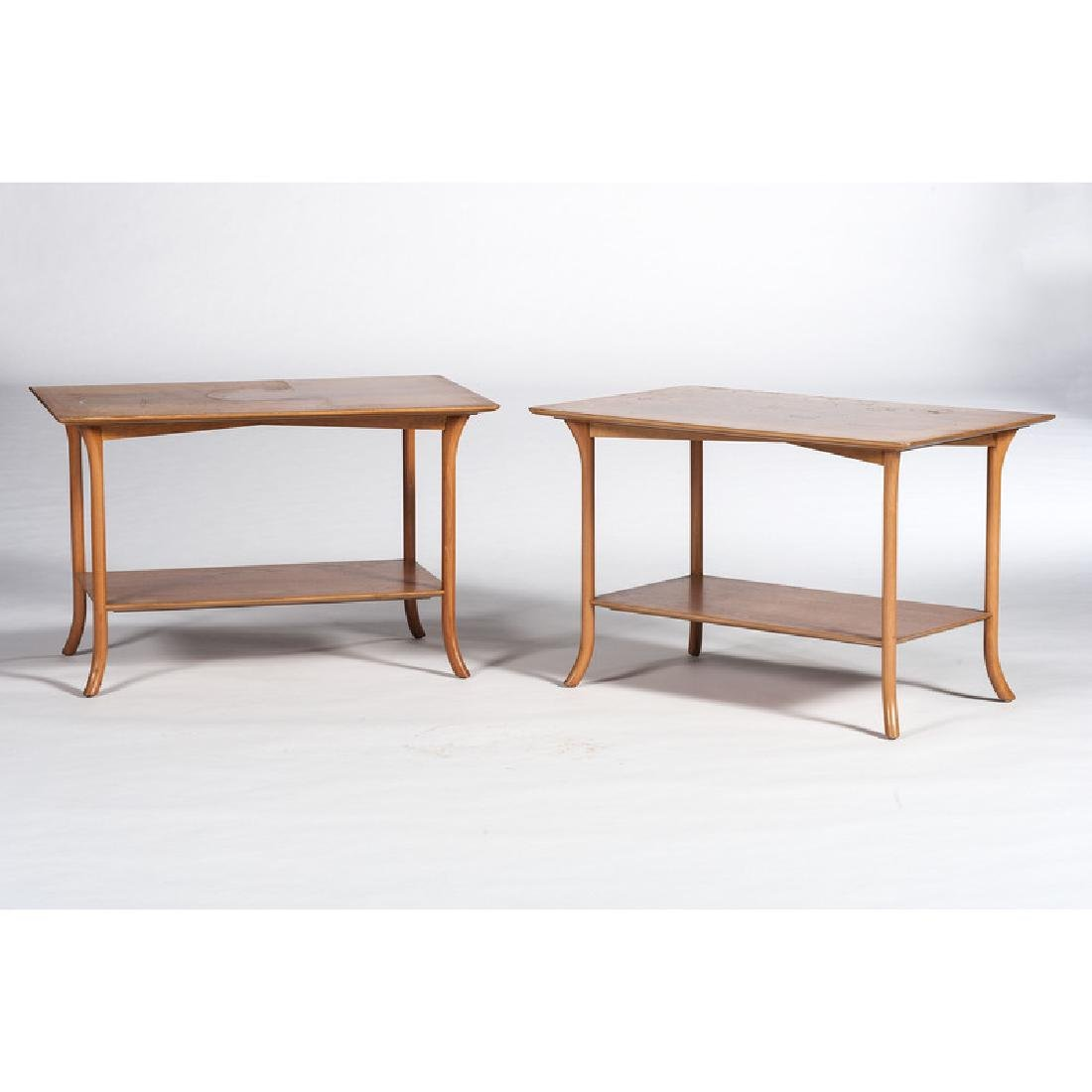 Mid-Century Modern Scandinavian End Tables