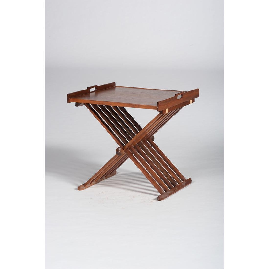 Drexel Folding Table with Tray Top