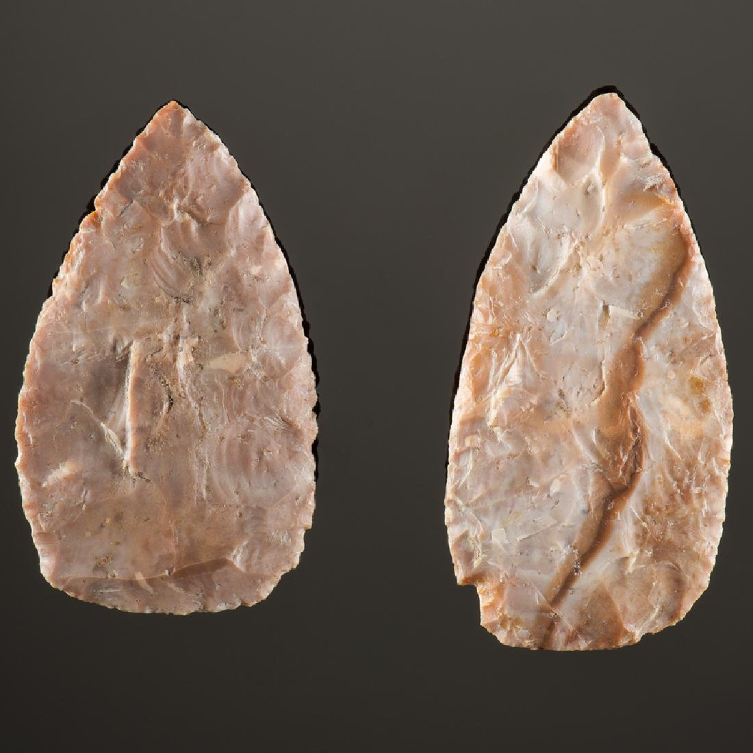 Flint Ridge Cache Blades, From the Collection of Jan