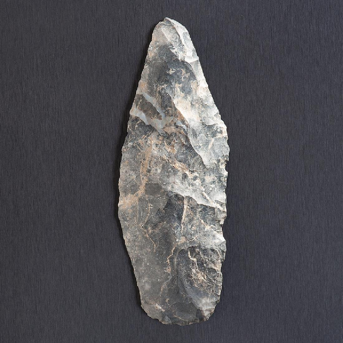 A Coshocton Flint Lanceolate, From the Collection of