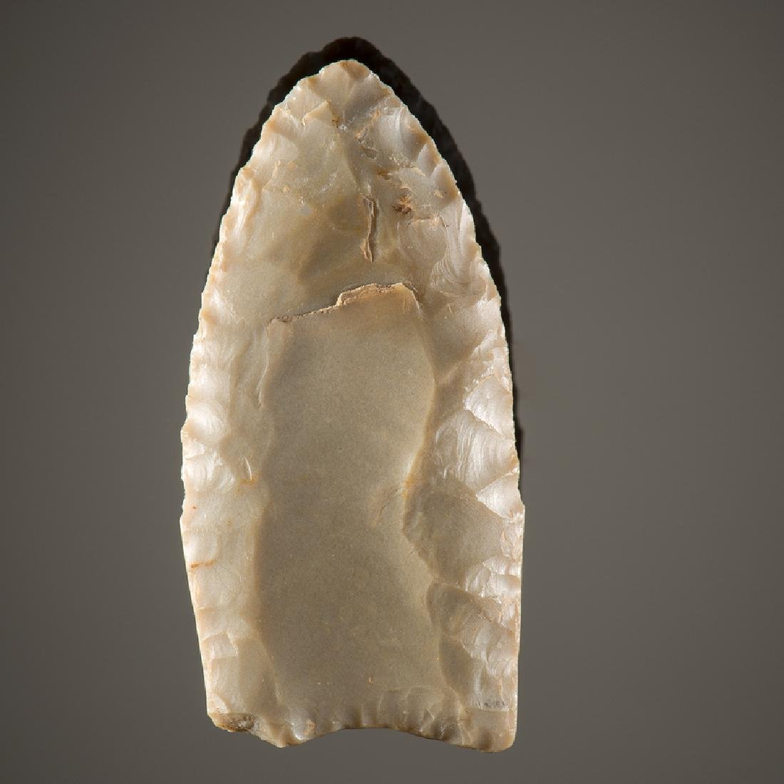 A Fluted Clovis Point, From the Collection of Jan