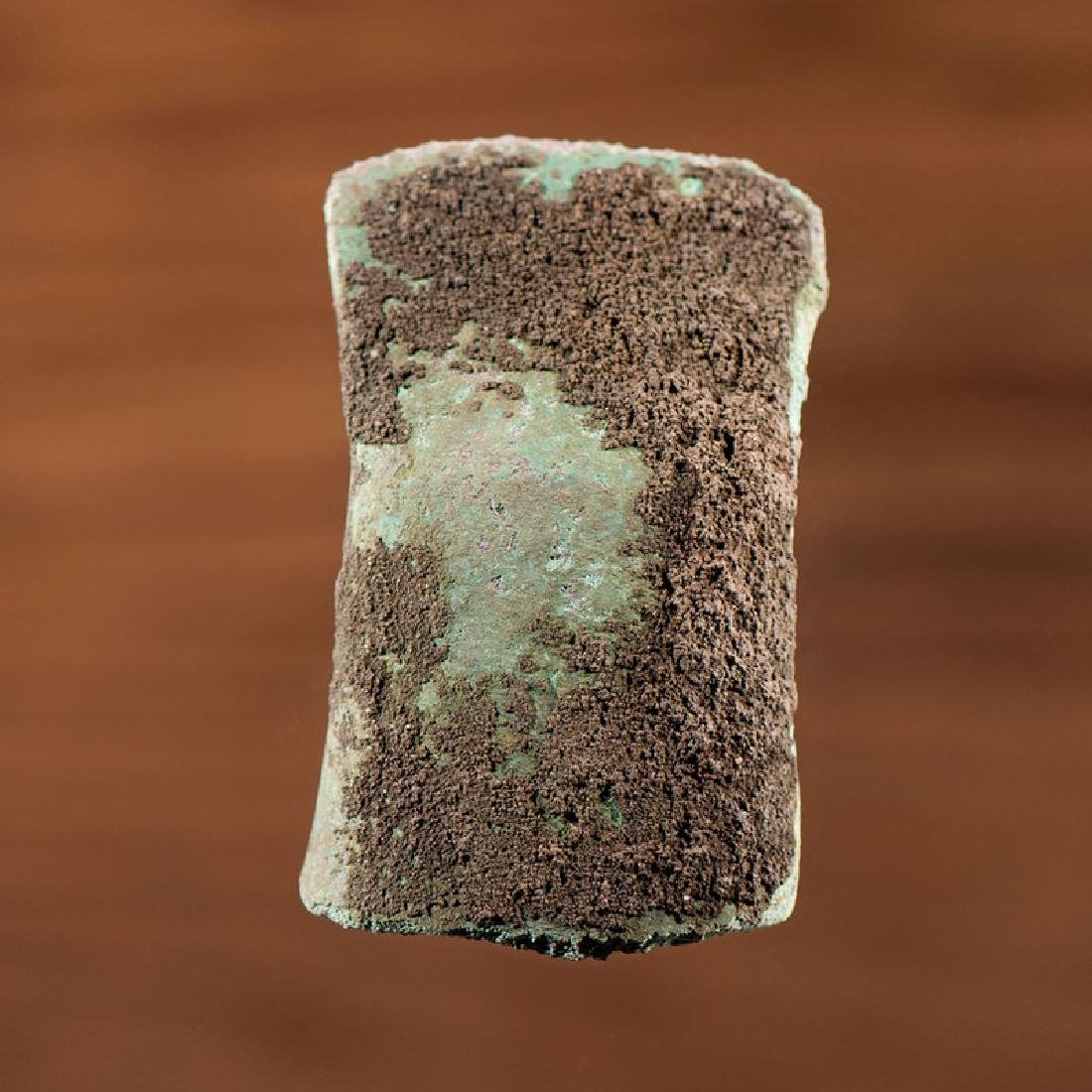 An Old Copper Culture Socket Adz, From the Collection