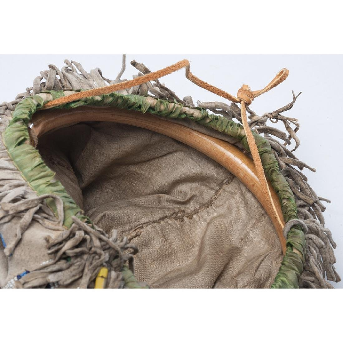 Eastern Plains Beaded Hide Four-Sided Pouch - 5