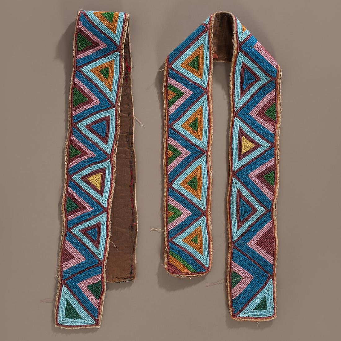 Eastern Plains Beaded Shirt Strips