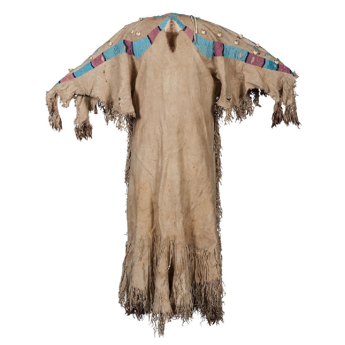 Nez Perce Beaded Hide Dress