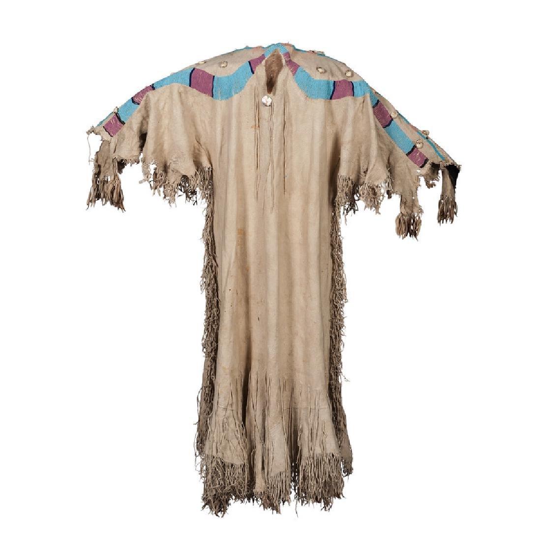 Nez Perce Beaded Hide Dress - 2