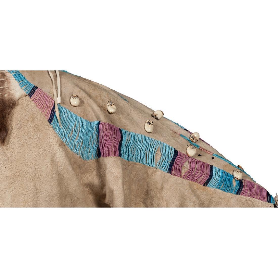 Nez Perce Beaded Hide Dress - 3