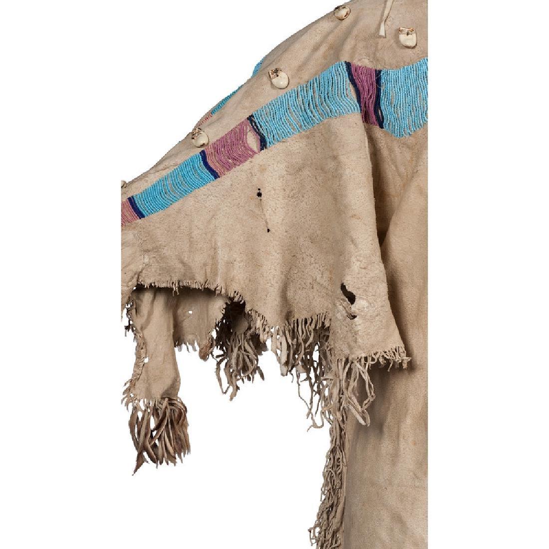 Nez Perce Beaded Hide Dress - 4