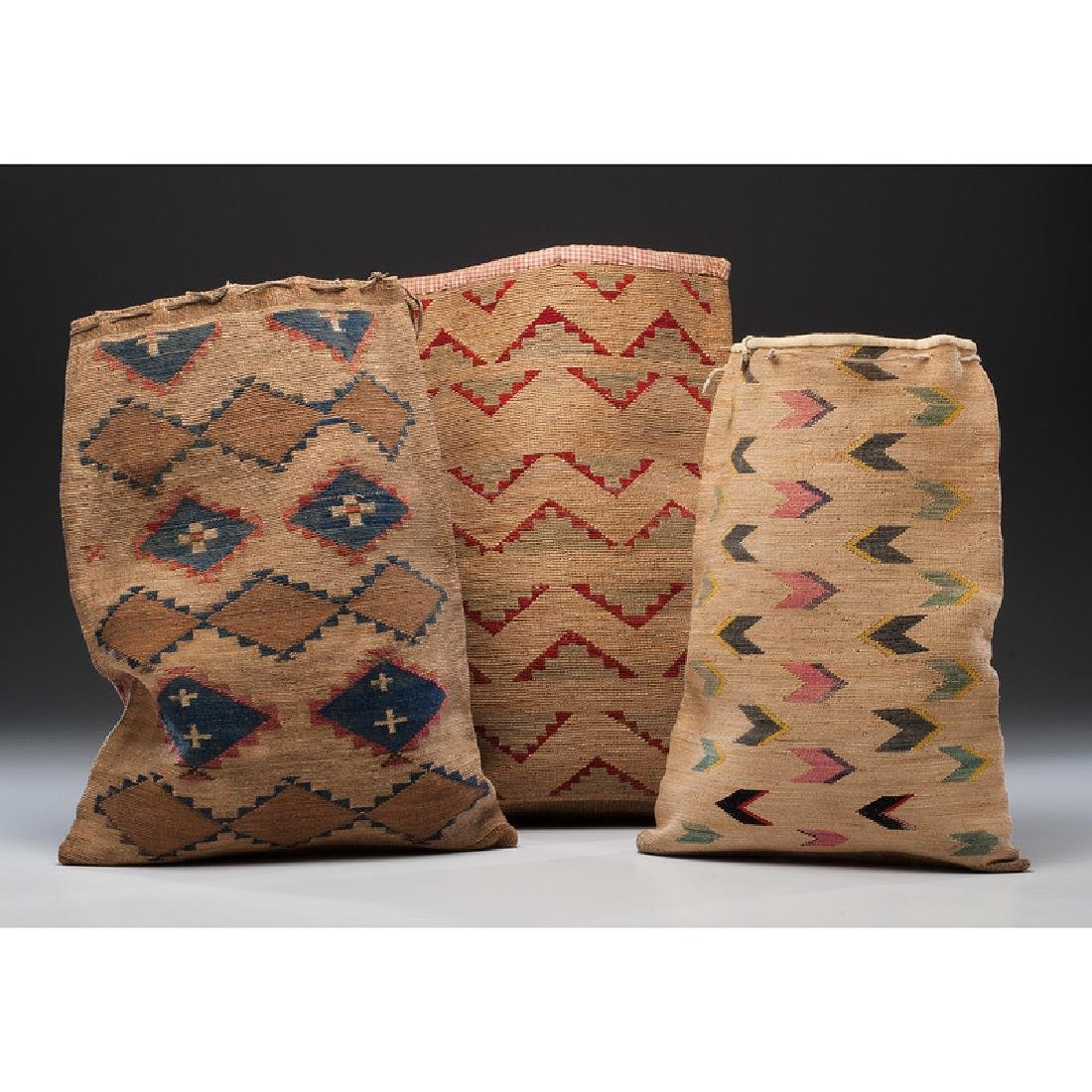 Nez Perce Corn Husk Flat Bags, From the Collection of - 2