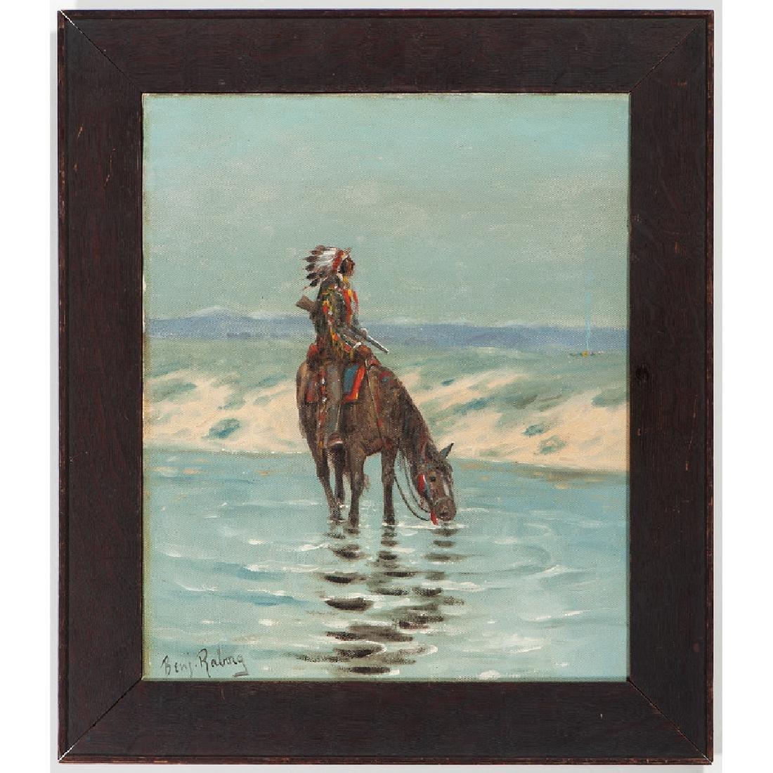 Benjamin Raborg (American, 1871-1918) Oil on Canvas - 2