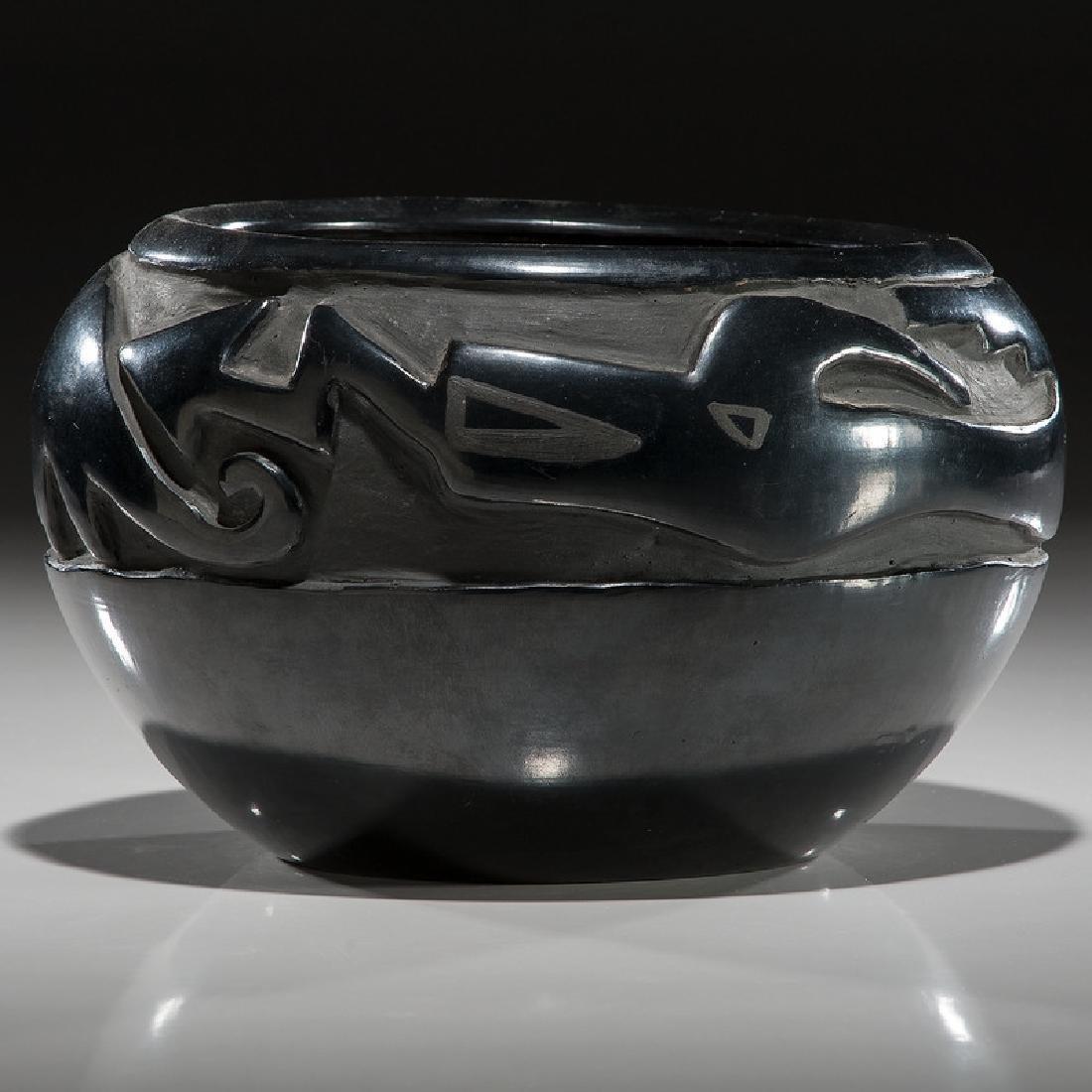 Margaret Tafoya (Santa Clara, 1904-2001) Blackware