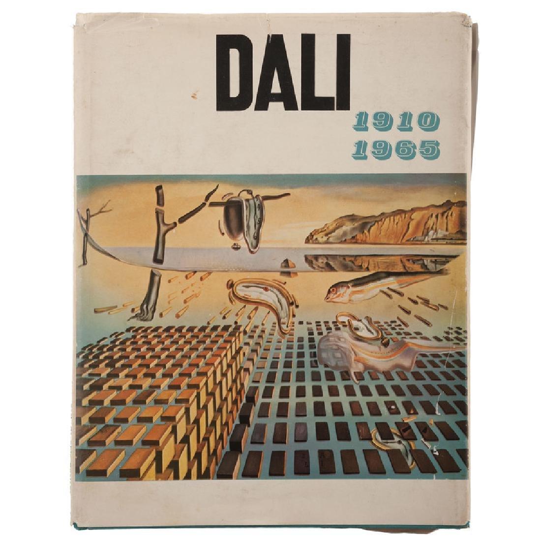 Dali, 1910-1965, Salvador Dali Autographed Book