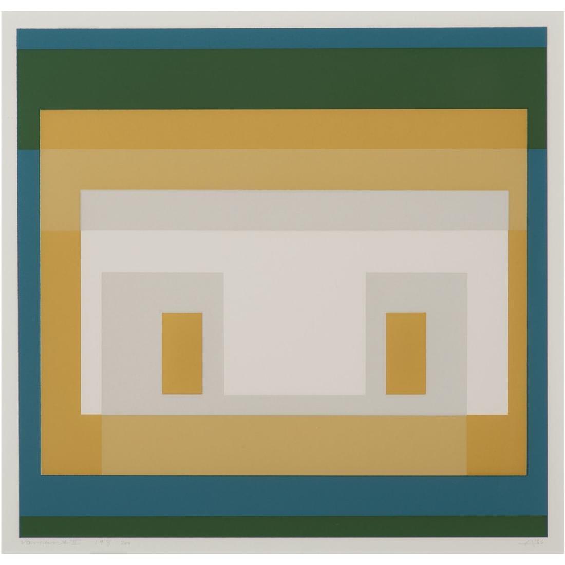 Josef Albers (American/German born, 1888-1976)