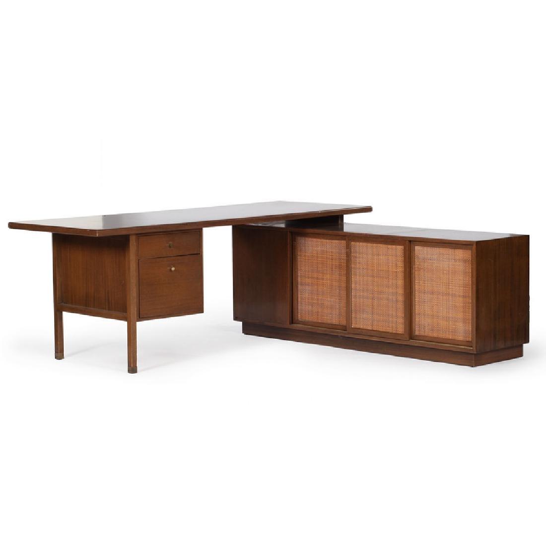 Mid-Century Modern Harvey Probber Desk Unit