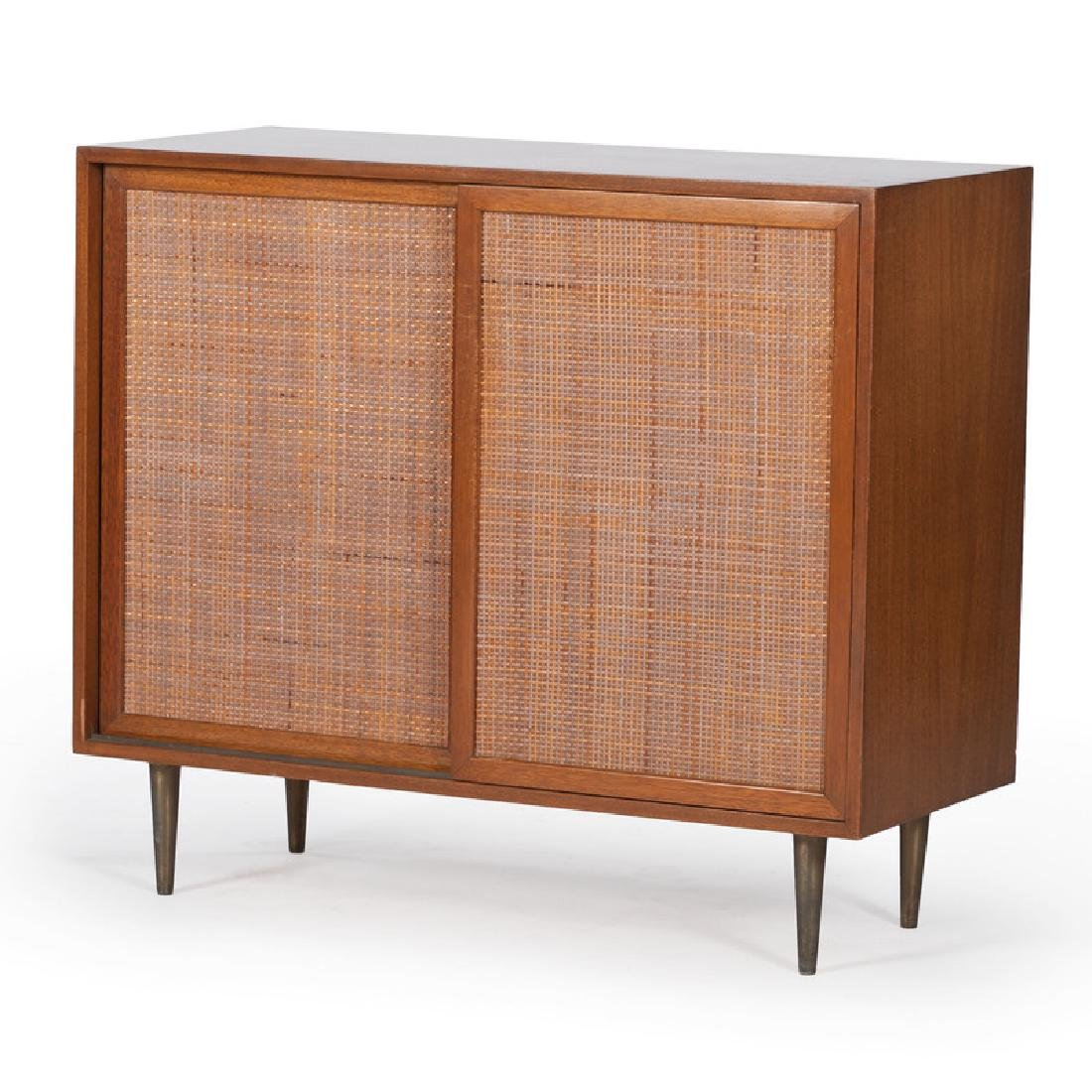 Mid-Century Modern Harvey Probber Cabinet with Sliding