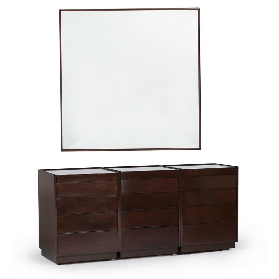 Edward Wormley for Dunbar Dresser and Mirror